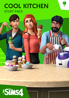 The Sims 4 Cool Kitchen Stuff