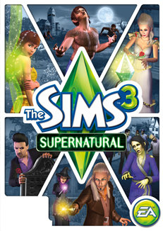 Buy the sims 3: supernatural official website.