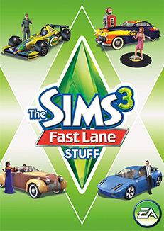 $14. 99 sims 3 fast lane stuff expansion pack (pc/mac dvd) free.