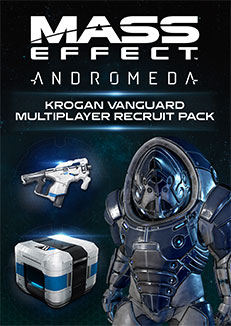 Mass Effect Andromeda Turian Soldier Multiplayer Recruit Pack For